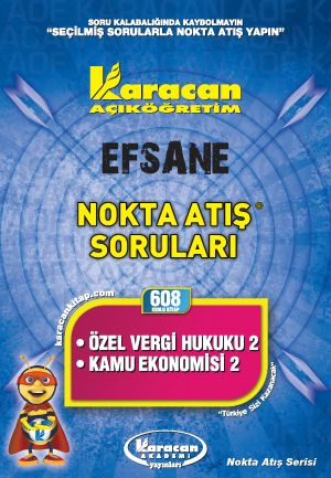 Karacan Özel Vergi Hukuku 2 - Kamu Ekonomisi 2 - 608