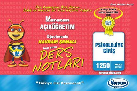 Karacan Psikolojiye giriş - 1250