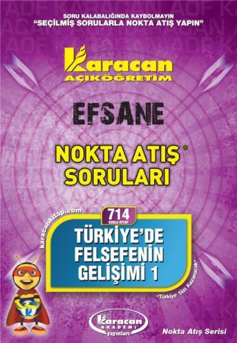 Karacan Türkiye 'de Felsefenin Gelişimi 1 - 714
