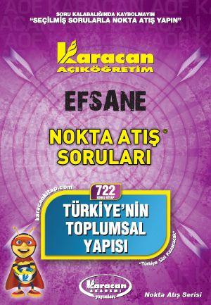 Karacan Türkiye 'nin Toplumsal Yapısı - 722