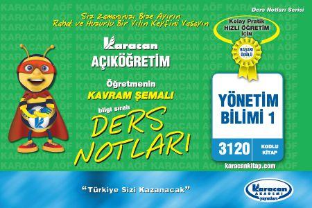 Karacan Yönetim Bilimi 1 - 3120