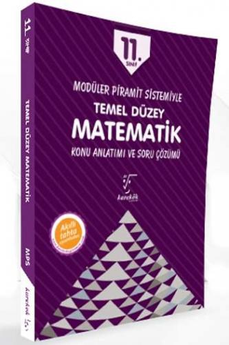 Karekök Yayınları 11. Sınıf Matematik Temel Düzey Konu Anlatımı ve Soru Çözümü