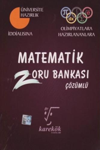 Karekök Yayınları Matematik Çözümlü Zoru Bankası