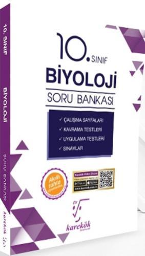 Karekök Yayınları 10. Sınıf Biyoloji Soru Bankası %40 indirimli Komisy