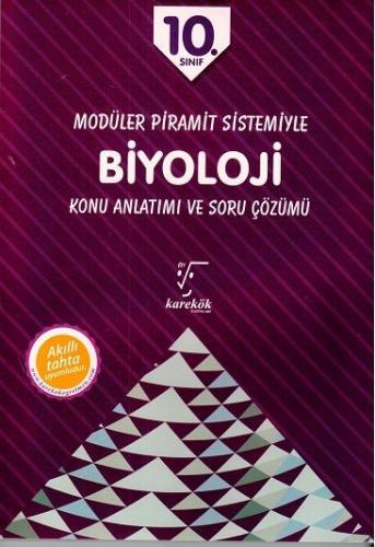 Karekök 10. Sınıf Modüler Piramit Sistemiyle Biyoloji Konu Anlatımı ve Soru Çözümü