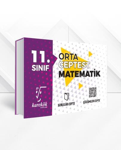 Karekök Yayınları 11. Sınıf Matematik Orta Cep Test Komisyon