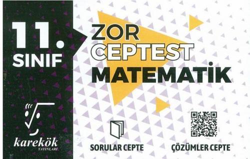 Karekök Yayınları 11. Sınıf Matematik Zor Cep Test Komisyon