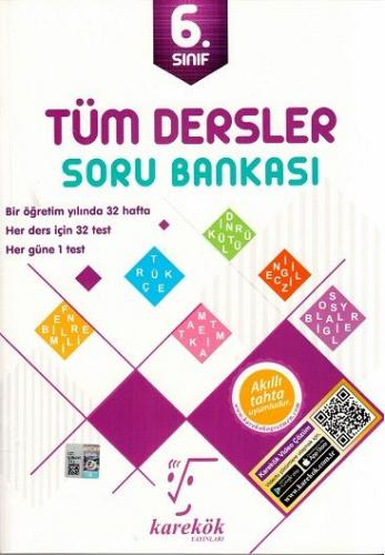 Karekök 6. Sınıf Tüm Dersler Soru Bankası