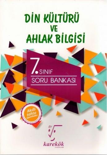 Karekök Yayınları 7. Sınıf Din Kültürü ve Ahlak Bilgisi Soru Bankası K