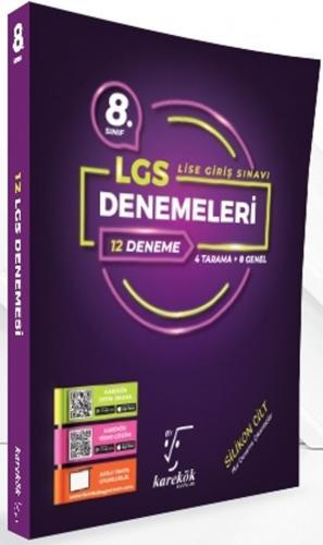 Karekök Yayınları 8. Sınıf LGS 12 Deneme %40 indirimli Komisyon