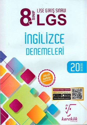 Karekök 8. Sınıf LGS İngilizce Denemeleri