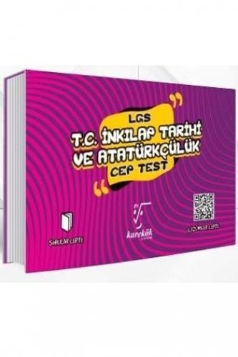 Karekök Yayınları 8. Sınıf LGS T.C. İnkılap Tarihi ve Atatürkçülük Cep Test