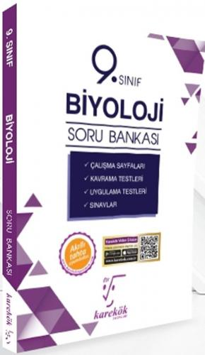Karekök Yayınları 9. Sınıf Biyoloji Soru Bankası %40 indirimli Komisyo