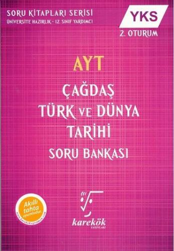 Karekök AYT Çağdaş Türk ve Dünya Tarihi Soru Bankası