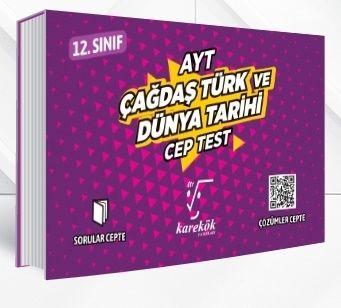 Karekök Yayınları AYT Çağdaş Türk ve Dünya Tarihi Cep Test