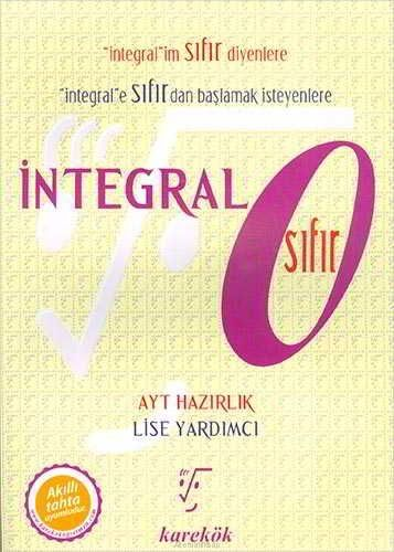 Karekök Yayınları AYT İntegral Sıfır