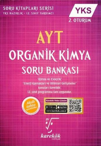 Karekök AYT Organik Kimya Soru Bankası