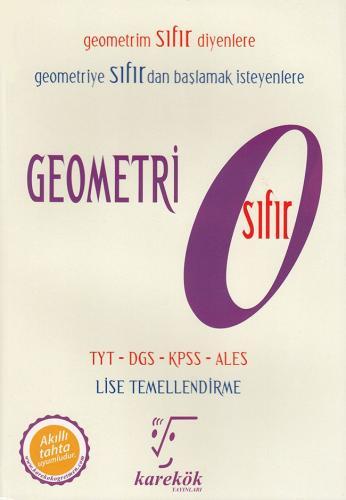 Karekök Yayınları TYT DGS KPSS ALES Geometri Sıfır