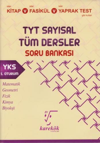 Karekök TYT Tüm Dersler Sayısal Soru Bankası