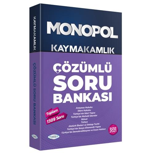 Monopol Yayınları 2021 Kaymakamlık Çözümlü Soru Bankası Komisyon