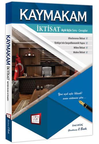 Kaymakamlık İktisat Hazırlık Kitabı - 657 Yayınevi