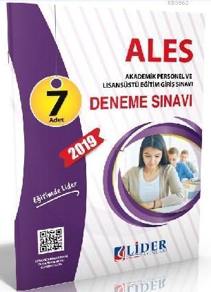 Lider ALES Çözümlü 7 Deneme 2019