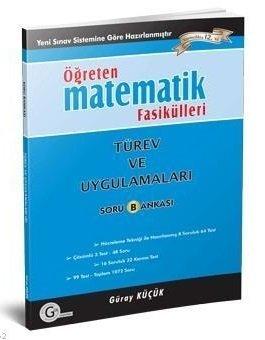 Gür Yayınları Matematik Fasikülleri Türev ve Uygulamaları Öğreten Soru Bankası