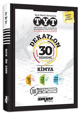 Ankara Yayıncılık TYT Kimya Dekatlon 30 Deneme Video Çözümlü Komisyon
