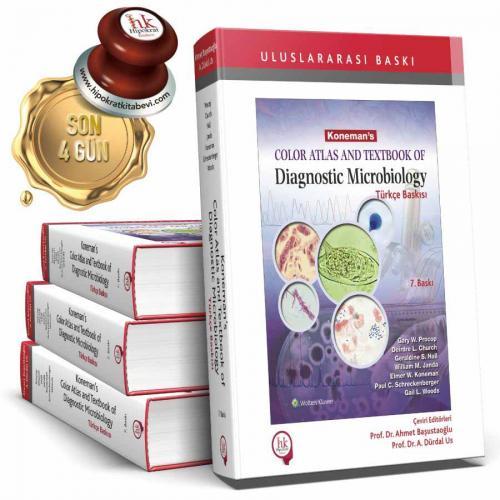 Koneman's Color Atlas And Textbook of Diagnostic Microbiology Türkçe B