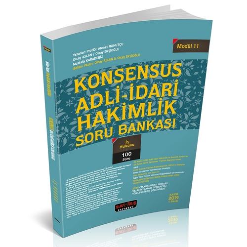 KONSENSUS Adli-İdari Hakimlik İş Hukuku Soru Bankası