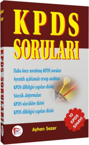 KPDS Soruları - Ayhan Sezer