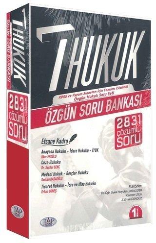 Tap Yayınları KPSS A Grubu Hukuk Soru Bankası Seti İlker Eroğlu