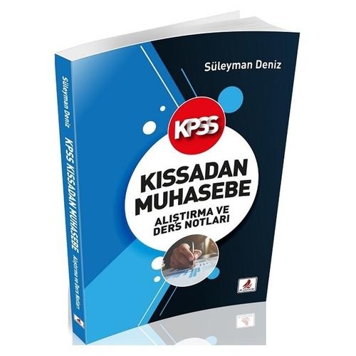 DB Yayınları KPSS A Grubu Kıssadan Muhasebe Alıştırma ve Ders Notları