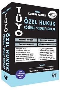 KPSS A Grubu Tüyo Özel Hukuk Çözümlü Çıkmış Sorular - 4T Yayınları