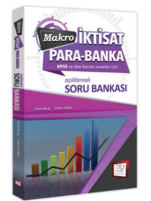 KPSS A Makro İktisat Para Banka Açıklamalı Soru Bankası 2019