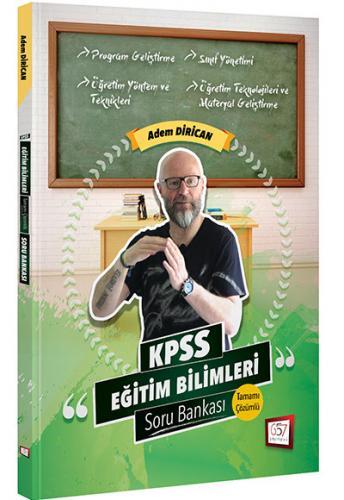 KPSS Eğitim Bilimleri Açıklamalı Soru Bankası 2019