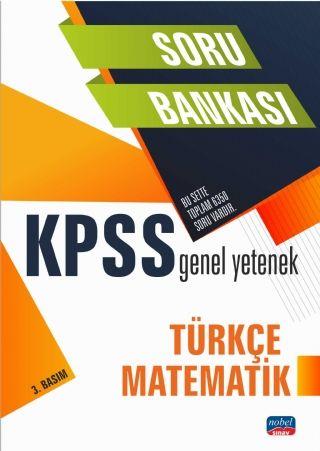 Nobel Yayınları 2021 KPSS Türkçe-Matematik Soru Bankası Komisyon