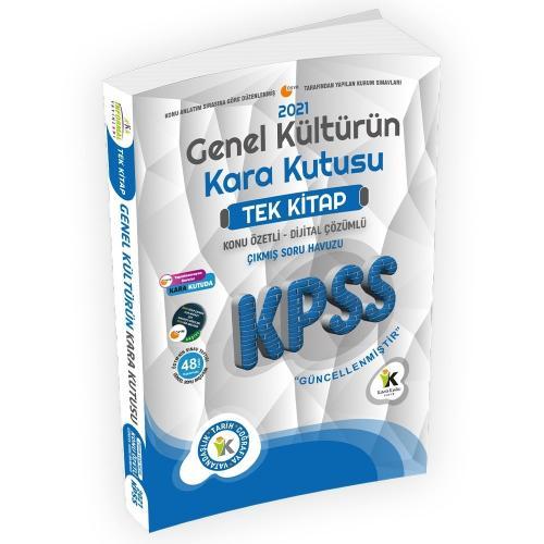 2021 KPSS Genel Kültürün Kara Kutusu Tek Kitap Konu Özetli Dijital Çöz