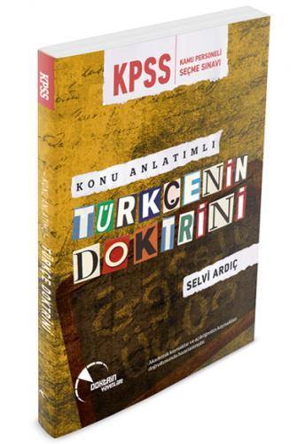 KPSS Türkçenin Doktrini Konu Anlatımlı 2018 - Selvi Ardıç