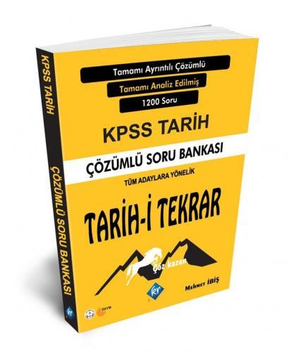 KR Akademi 2020 KPSS Tarih Tarih-i Tekrar Çözümlü Soru Bankası %45 ind