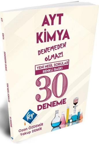 KR Akademi AYT Kimya Denemeden Olmaz 30 Deneme Ozan Özdemir