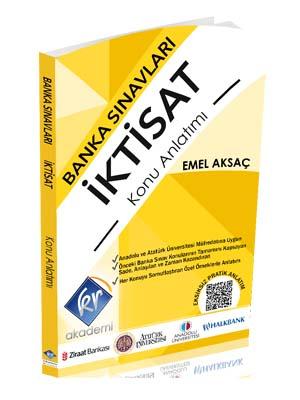 KR Akademi Banka Sınavları İktisat Konu Anlatımı Kitabı - Emel Aksaç