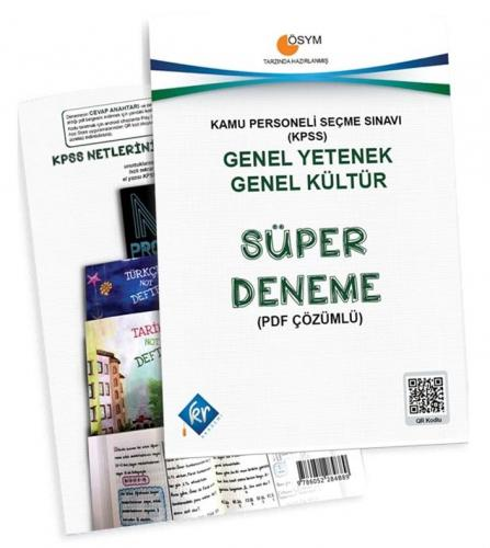 KR Akademi KPSS Genel Yetenek Genel Kültür Süper Deneme Komisyon