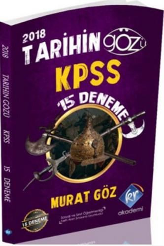 KR Akademi KPSS Tarihin Gözü 15 Deneme