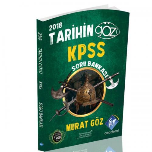 KR Akademi KPSS Tarihin Gözü Tamamı Çözümlü Soru Bankası 2018 - Murat Göz