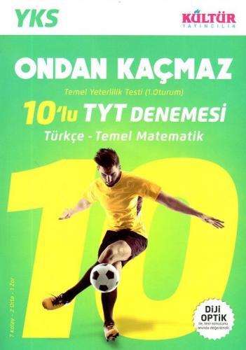 Kültür YKS 1. Oturum TYT Türkçe Temel Matematik 10 lu Denemesi