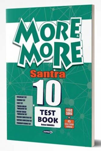 Kurmay ELT More and More English 10 Santra Test Book