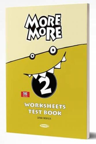 Kurmay ELT More and More English 2 WorkSheets Test Book