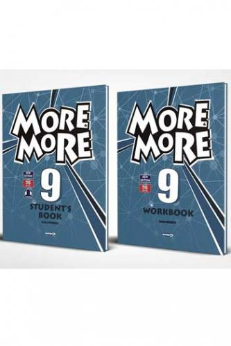 Kurmay ELT More and More English 9 Students Book + Workbook