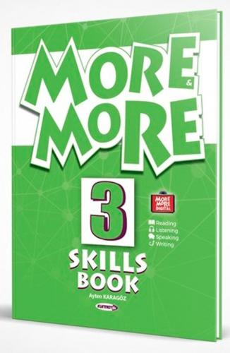 Kurmay ELT Yayınları 3. Sınıf More More English Skills Book